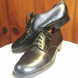 Men's Brooks Brothers Classic Black Cap Toe Shoe